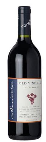 Marietta Cellars Old Vine Red Lot Number 60
